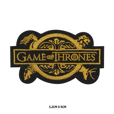 Game Of Thrones Embroidered Iron on Patch Sew On Badge