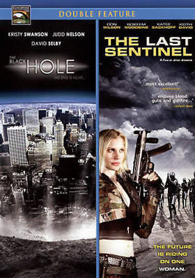 The Black Hole / The Last Sentinel (DVD, 2009) Double Feature - Disc Only