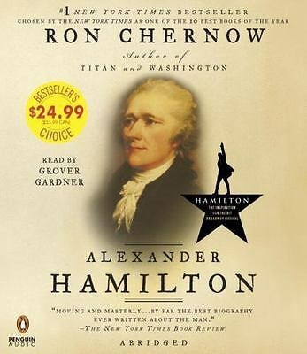 Alexander Hamilton CD Listen to Ron Chernow Audio Book