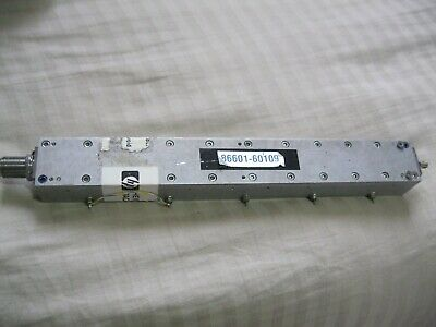HP Agilent RF 86601-60109 Step Attenuator Assembly
