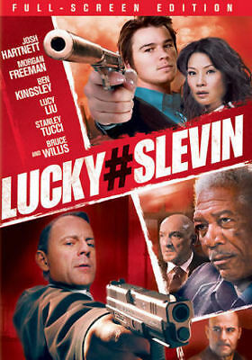 Lucky # Slevin (DVD, 2006, Full Frame Edition) - Disc Only