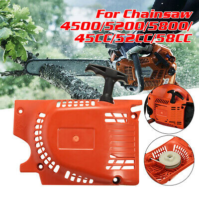 Recoil Pull Starter For Chinese Chainsaw 4500 5200 5800 45 52cc 58cc Raptor