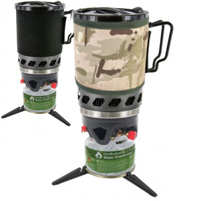 Highlander Blade MK2 Stove Camping Military Forces Stove Fast Boil Gas HMTC Camo
