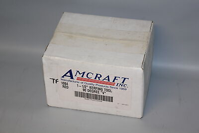"Amcraft 1084 Red 1-1/2"" Kerfing Tool - 90 Degree ""V"" Duct Board Tool"