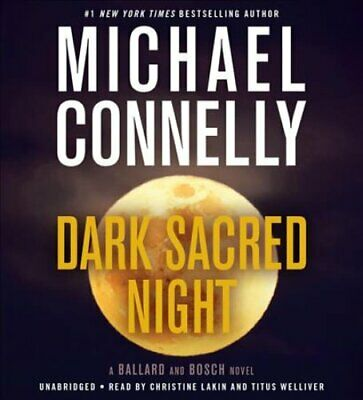 Dark Sacred Night by Michael Connelly 9781549142314 (CD-Audio, 2018)