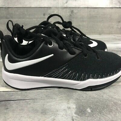 4a7ea8855f9dca NIKE TEAM HUSTLE D 7 Low Youth Size 5 Basketball Blue (834318-400 ...