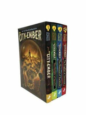 The City of Ember Complete Boxed Set by Jeanne DuPrau 9780399551642