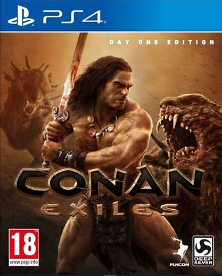 Conan Exiles Day One Edition   playstation 4  PS4   NUOVO  ITA