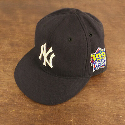 4dbac7cdc7ac6 NEW ERA NEW York Yankees 1999 World Series 59fifty Fitted Cap Hat 7 ...