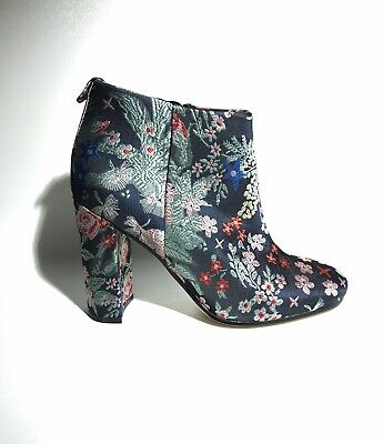 0821ebadd Sam Edelman Women s Cambell Ankle Bootie Shoes Boots Grey Multi Floral Size  ...