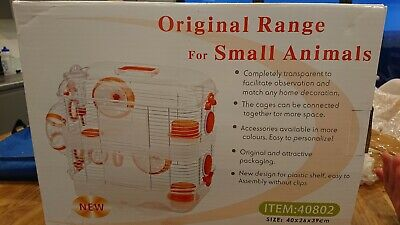 Original Range Cage for Small Animals, hamster, gerbil, mice. New