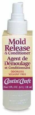 4 Ounce Bottle Castin'Craft Mold Release & Conditioner Spray for Molds