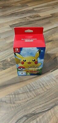 Pokemon Lets Go Pikachu + Pokeball Plus | NEU & OVP | Nintendo Switch