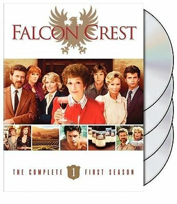 Falcon Crest TV Show The Complete First Season DVD 2010 4 Disc Set New Sealed !!