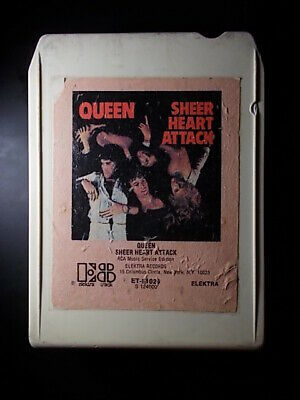 QUEEN - Sheer Heart Attack .................. 8Track / 8Spur Tonband