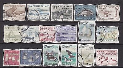 GREENLAND  ^^^^^1970/80's    better used collection  $$$@ dc49green