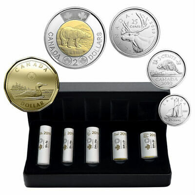 First Strikes – 2019 Special Wrap Coin Roll Collection – Royal Canadian Mint