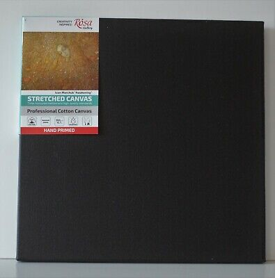 BLANK STRETCHED CANVAS GESSO PRIMED 100/% COTTON Set of 2x 26x36 cm 10x14 inch