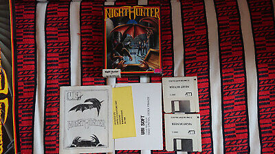 Night Hunter Atari ST complet avec poster (No Paypal)