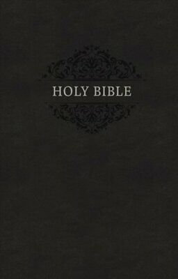 KJV, Holy Bible, Soft Touch Edition, Imitation Leather, Black, Comfort Print...