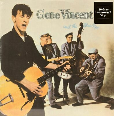 Gene Vincent AND THE BLUE CAPS 180g DOL New Sealed Black Vinyl Record LP