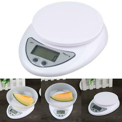 5kg/1g Digital Electronic Food Diet Postal Scale Weight Balance For Kitchen