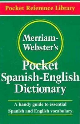 Merriam Webster's Pocket Spanish-English Dictionary 9780877795193