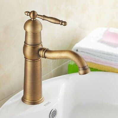 Antique Brass Bathroom Faucet Vessel Sinks Faucet Cold And Hot Water  Gnf123