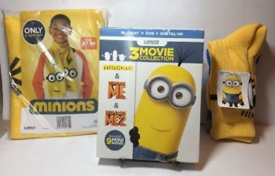 Despicable Me: 3-Movie Collection Giftset(Blu-ray/DVD, 2016,6-Disc Set)Brand NEW