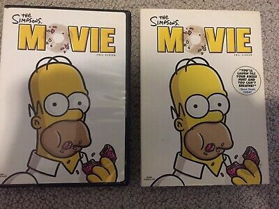 Simpsons Movie Dvd 2009 Full Screen Used Watched Once Slip Cover 3 99 Picclick