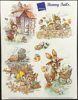 Vintage Stickers - Eureka - Giordano Bunny - Easter - Excellent!!