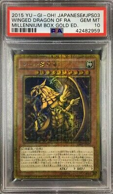 Japanese The Winged Dragon of Ra MB01-JPS03 Mil-Gold Yugioh