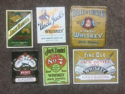 Jack Daniels Labels - From 1985