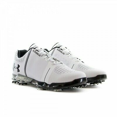 ae88a0bf6fe74 NEW UNDER ARMOUR UA Spieth One Golf Shoes Size 15 Men White Black ...