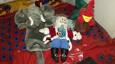 Bundle Job Lot Glove Puppets Including The Puppet Company