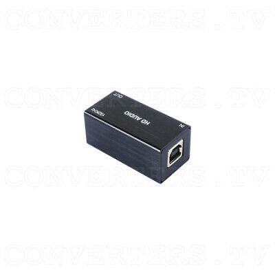 USB PC to Optical Audio Converter (up to 192kHz) (3 Year Warranty)