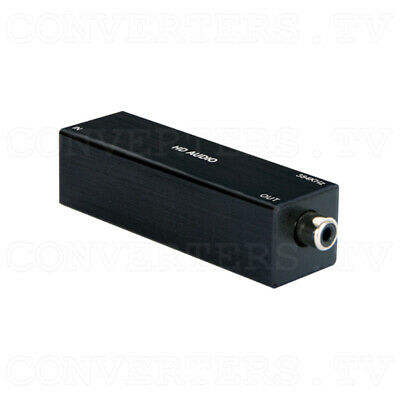 USB to Coaxial Audio Converter (up to 384kHz) (3 Year Warranty)