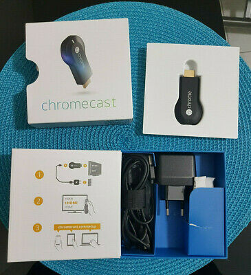 Chromecast Google Video Hdmi Youtube Media Streaming Wireless Wifi Originale