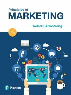 Principles of Marketing by Gary Armstrong and Philip T. Kotler (2017, Hardcover)