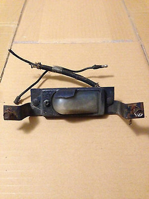 Original Heater Dash Control Plate 1965-1966  - Ford Mustang