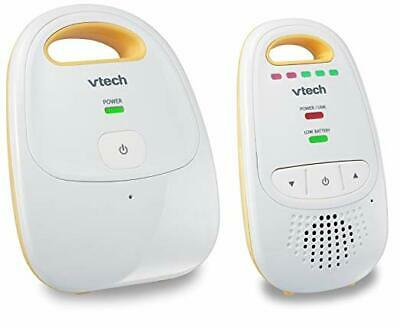 VTech DM111 Audio Baby Monitor with up to 1,000 ft of Range, 5-Level Sound Indic