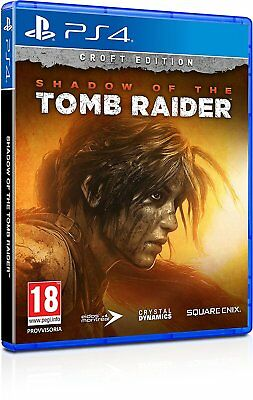 Shadow of the Tomb Raider Croft Edition  PS4  PLAYSTATION 4  NUOVO