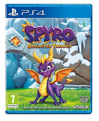 Spyro Trilogy Reignited   PS4  PLAYSTATION 4  NUOVO