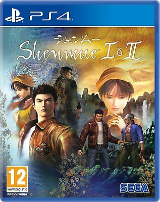 Shenmue HD I & II  PS4  PLAYSTATION 4  NUOVO PREORDER
