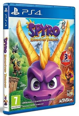 Spyro Trilogy Reignited - Ps4 - en Stock Maintenant Neuf et Scellé Gb Pal