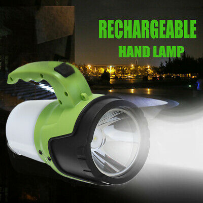 Rechargeable Torch LED Light Candle Power Spotlight Camping Tent Lantern Lamp