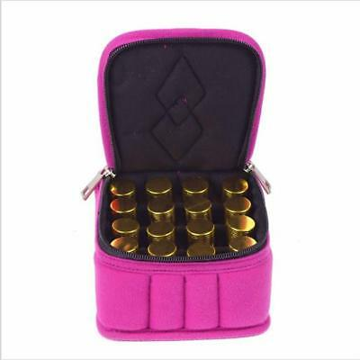 5/10/15ml Travel Carrying Case Holder Storage Bag for Essential Oil Bottles MH