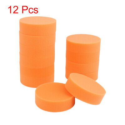 Car Wash Sponge Cleaning Cloth Washing Absorbent Foam Cleaner Tools Orange 12pcs