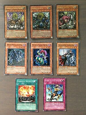 Yu-Gi-Oh Exclusive Movie Pack EP1 Set Completo 8 carte - MINT