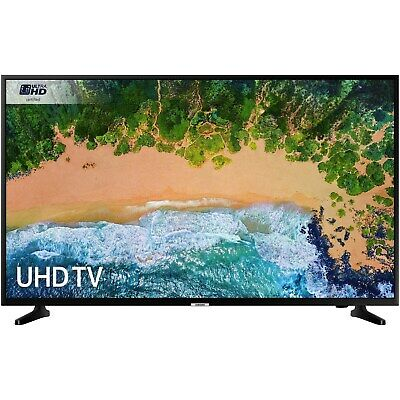 """Samsung UE50NU7020 50"""" 4K Ultra HD HDR LED Smart TV with Freeview UE50NU7020KXXU"""